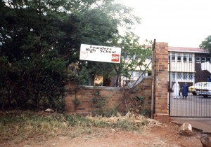 Founder's High School, Rhodesia, Africa