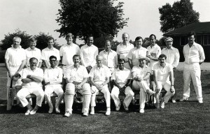 Captained the Manor Hospital cricket team