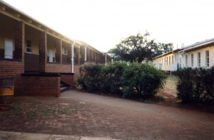 Classrooms at the Founder's High School, Rhodesia, Africa