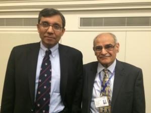 Professor Zulfikar Bhutta of WHO