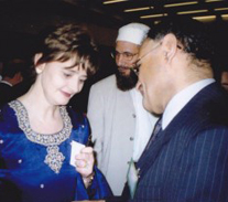 Invited to meet Cherie Blair – work done for 'women and children' in third world countries.