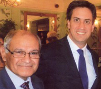 Invited to meet Ed Milliband  - leader of HM opposition party -for the charity work done locally nationally and internationally